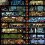 Fallout Shelter комнаты