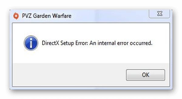 исправление ошибки directx-setup-error-an-internal-error-occurred